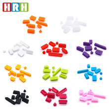 цена на 100set/lot Silicone Data Port Anti Dustproof Plug For Macbook Pro dust plug Stopper Cover Set For Laptop FREE SHIPPING