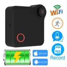 JIENU C1 HD 720P Mini Wifi IP Camera Wireless P2P Monitor Network CCTV Security Camera Home Mobile Remote Battery running