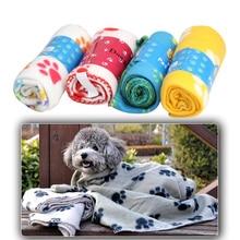 Warm, handcrafted Dog Fleece / cotton blanket