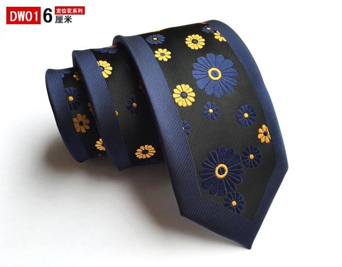 Casual Neckcloth For Men 6 Cm Wedding Accessories Slim