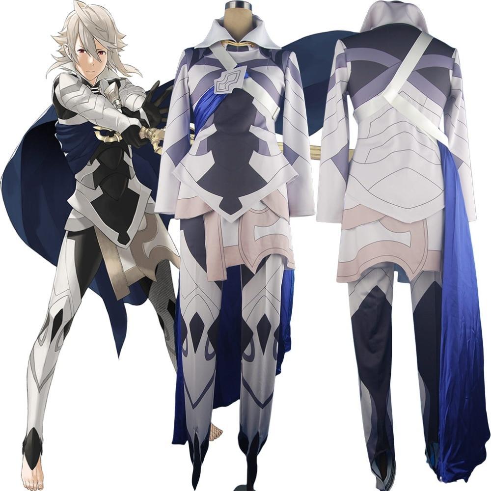 Fire Emblem If Fates Avatar Corrin Outfit Uniform Halloween Anime Cosplay Costume Men Women Adults