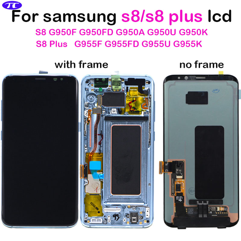 For SAMSUNG S8 G950F G950U G955FD lcd Display Touch Screen Digitizer Assembly replacement parts for Samsung