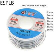 ESPLB CF-10 Solder Wire Tin 0.5/0.6/0.8/1.0/1.2/1.5/2.0mm Roll Clean Rosin Welding Core Soldering Wire Flux Reel Tube