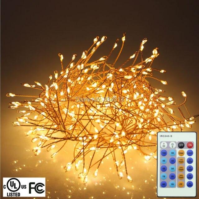 UL CE Snoer 1.25 m 4FT 400 LEDs Koperdraad LED String Lights Garden ...