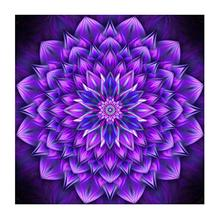 Flower Cross Stitch Mandala DIY Diamond Painting Embroidery Christmas Decoration Factory Direct L20125