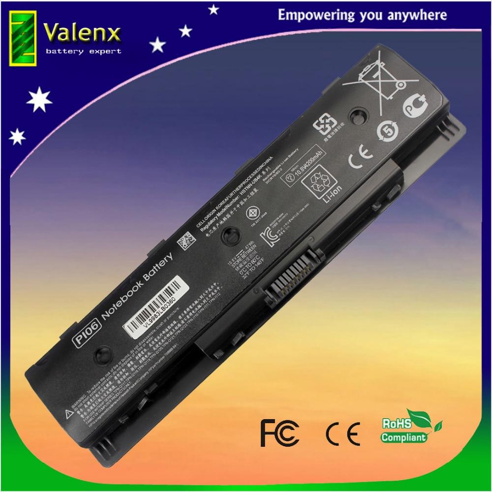 Batterie laptop per HP Enyy 14 Enyy 15 Enyy 17 PI06 P106 PI09 HSTNN-UB4N 710416-001 H6L38AA # ABB, HSTNN-LB4N
