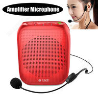 Free Shipping Mini 10W Waistband Voice Amplifier Booster Headset Microphone For Teachers Guid
