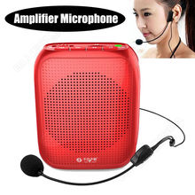 Free shipping!Mini 10W Waistband Voice Amplifier Booster+Headset Microphone For Teachers Guid