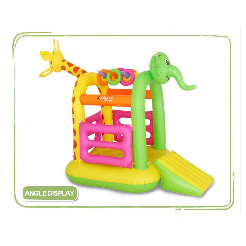 baby <font><b>bouncers</b></font> and jumpers cartoon Inflatable foldable baby <font><b>bouncers</b></font> and jumpers Slide baby jumping toys jolly jumper folding