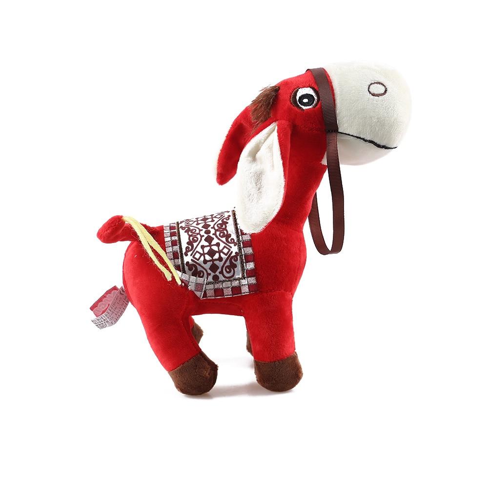 25cm Baby Animal Kids Soft Simulation Donkey Stuffed Dolls Plush Toy