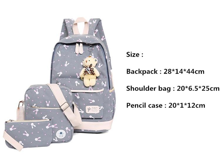 Girls School Student Bag