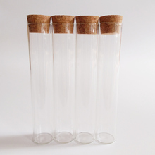 12pcs/lot 30ml glass test tube with cork 22*120mm Transparent wishing glass bottle School laboratory Heat resistant test tube цены онлайн