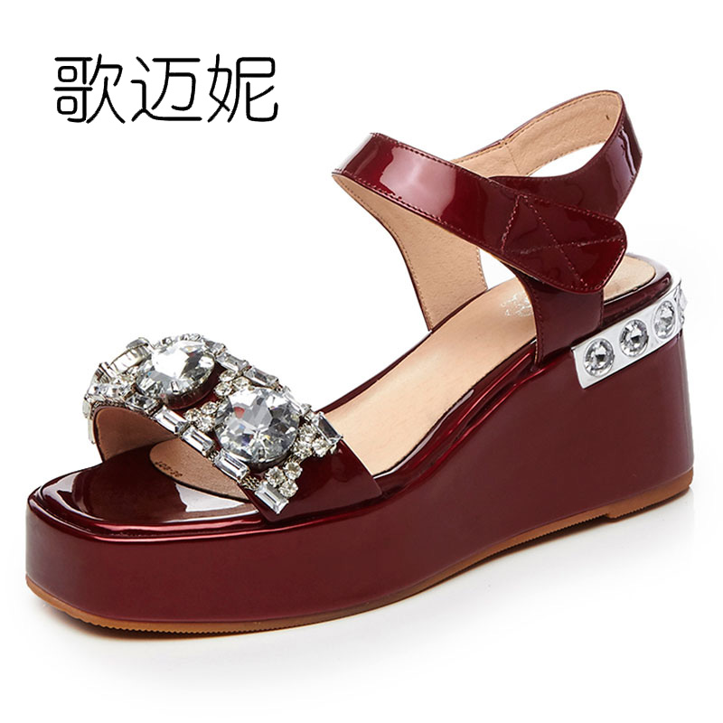 women sandals rhinestone platform wedges summer shoes for woman high heel ladies beach gladiator sandals 2017 summer sandles phyanic 2017 gladiator sandals gold silver shoes woman summer platform wedges glitters creepers casual women shoes phy3323