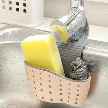 Kitchen Leakage Racks  Rubber utensils Sinks Drainage pockets Small Spongebobs Storage Supplies Hanging Organizer