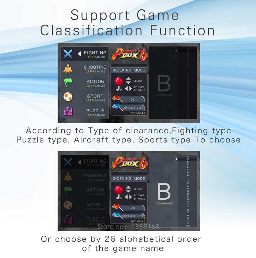 Jamma 버전 판도라 박스 6 hd 1300 1 멀티 아케이드 보드 지원 hdmi/vga/cga 판도라 5 아케이드 머신 캐비닛 게임을 추가 할 수 있습니다