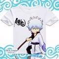 Anime GINTAMA Camiseta Sakata Gintoki Silver Soul Shimura Shinpachi Divertido Camisetas Frescas de Manga Corta Impreso Tops Tees Sadaharu