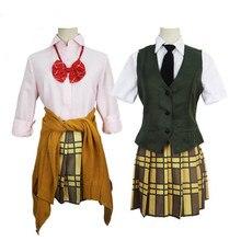cff7e64d973 2018 New Anime Citrus Cosplay Costume Aihara Yuzu   Aihara Mei Uniform  Outfit Necktie Shirt Skirt