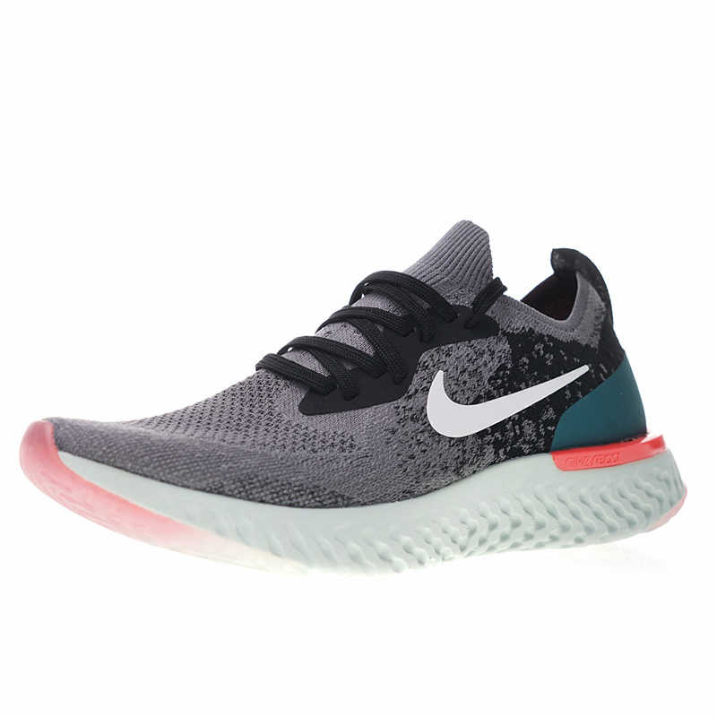 4d255271cc ... Nike Epic React Flyknit Women's Running Shoes, High Quality Outdoor  Sneakers Breathable Lightweight AJ7286 661 ...