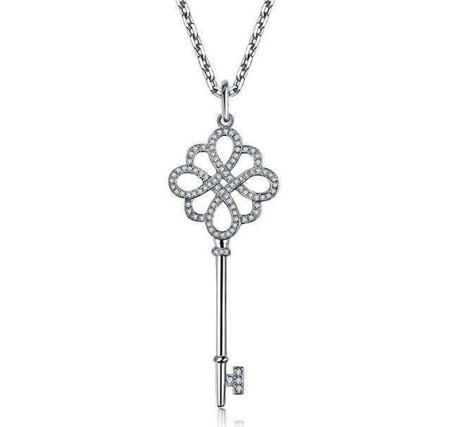 Aliexpress Buy Chinese Knot Key Sona Diamond Pendant Symbol Of