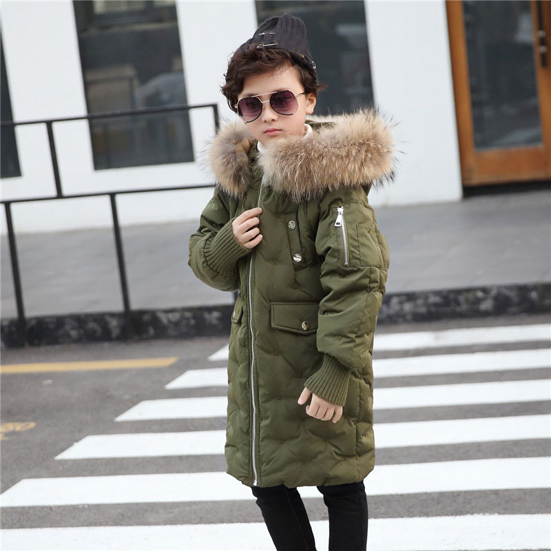 Christmas baby boys winter jackets hooded duck down jacket for girls teenage thick kids outerwear warm children coat parka 2018 стоимость