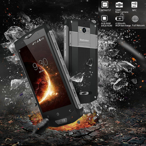 "Image 2 - Blackview BV8000 פרו מקורי 5 ""IP68 עמיד למים מחוספס נייד 6GB + 64GB אוקטה ליבות טביעת אצבע 4G קשה חיצוני Smartphone"