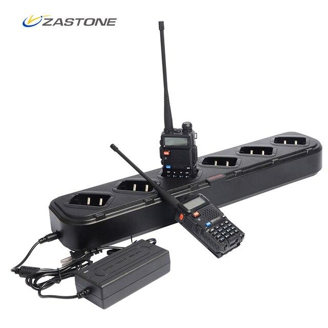 Многократное зарядное устройство для Baofeng UV5R 6 в 1 зарядное устройство для UV 5R