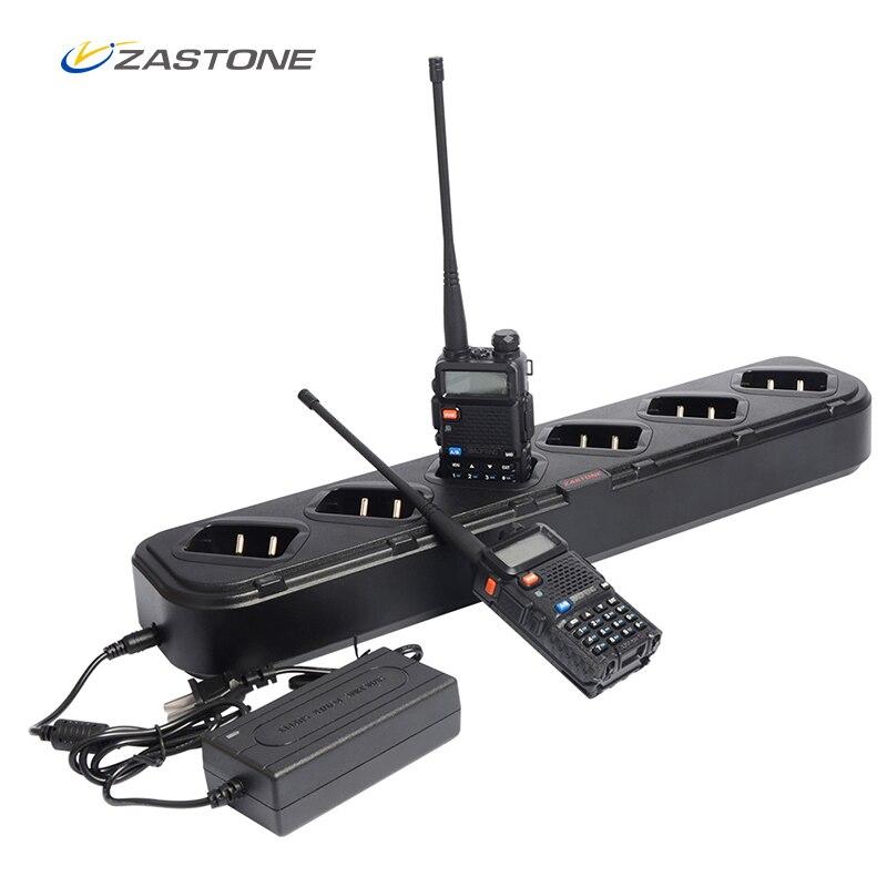 Zastone Chargeur Pour Talkie Walkie Baofeng UV5R Six Voies Chargeur pour Baofeng UV-5R Haute Qualité Accessoires De Poche Radio Chargeur