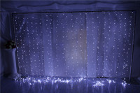 3X6M 110V/220V 600 LED String Lights For Wedding Event&Party&Backdrop Curtain Decoration(Lycra Chair Cover/Bands/Sashes)
