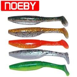 NOEBY Unique T-queue De Pêche Leurre 7 cm 10 cm Silicone Souple Appâts Isca Artificielle Par Pesca Leurre Souple peche Carpe Poissons Tackle