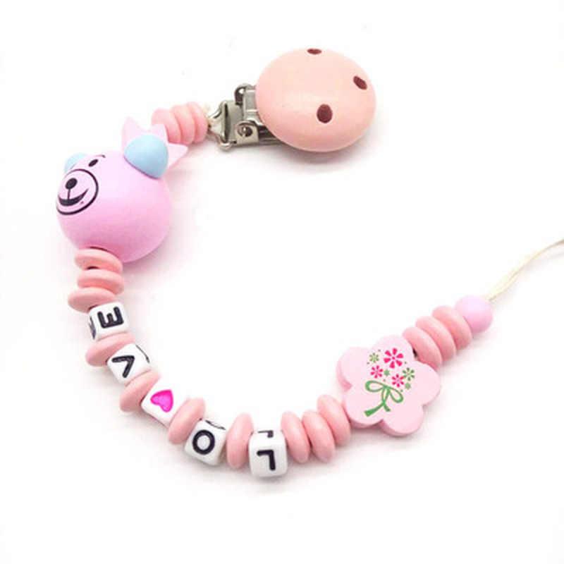 Прищепка для соски цепи младенческой обувь для мальчиков девочек милые Носки с рисунком медведя из мультика буквы-игрушки Прорезыватель соски