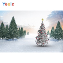Yeele Winter Landscape Tree Room Decor Fallen Snow Photography Backdrops Personalized Photographic Backgrounds For Photo Studio