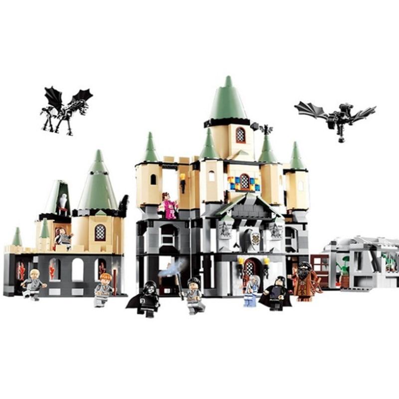 the 16029 Movie the harry 5378 Magic hogwort potter castle DIY Educational Building Blocks Bricks