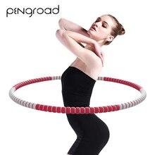 Женский спортивный обруч, разборный Гимнастический обруч для фитнеса, для девушек, для тренировки талии, брюшной полости, массажный обруч, оборудование для фитнеса в помещении