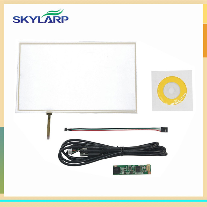 skylarpu 10.1 Inch 4 Wire Resistive Touch Panel 235*143mm USB Controller For N101N6-L01 Screen touch panel Glass Free shipping new 6 5inch 4 wire resistive touch screen panel 155x89mm usb controller for at065tn14 screen touch panel glass free shipping