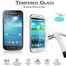 2016 New 0.3mm for samsung galaxy s6 Tempered Glass Screen Protector Film Cover For samsung galaxy s4mini s5 protective galaxy mr northjoe 10808 protective tempered glass screen protector for samsung galaxy s5 transparent