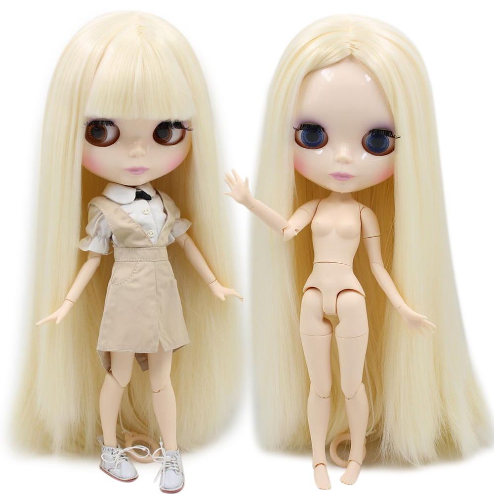 ICY Nude Factory Blyth Doll Series No BL0510 Blonde hair white skin JOINT body Neo 1