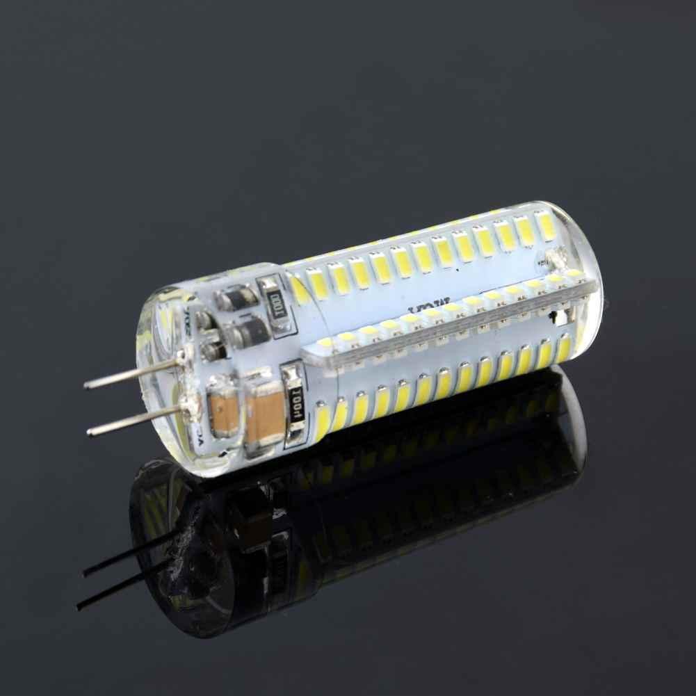 1pcs Mini G4 LED COB Lamp 3W 6W Bulb AC DC 12V 220V Candle Silicone Lights Replace 3W 5W 6W 9W Halogen for Chandelier Spotlight