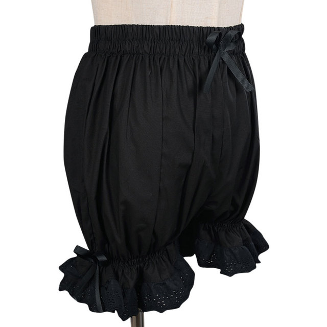 Sweet Cotton Lolita Shorts/Bloomers with Lace Trimming 2