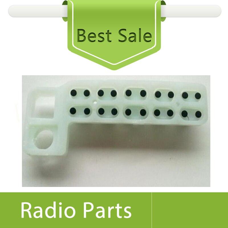 20X гумена клавиатура за Motorola Vehicle GM338 - Комуникационно оборудване - Снимка 3