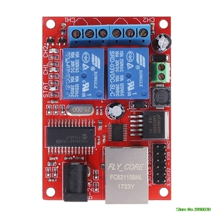 Image 5 - LAN Ethernet 2 WAY Relay บอร์ดล่าช้าสวิตช์ TCP/UDP Controller โมดูล WEB Server คุ้มค่า