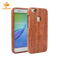 CORNMI Wood Phone Cases For Huawei P10 Lite P10lite P 10 Lite Case Back Cover Rosewood
