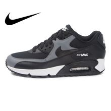 d6222ef6ad Original Authentic NIKE WMNS AIR MAX 90 Rubber Women's Running Shoes Height  Increasing Sneakers Sports Outdoor