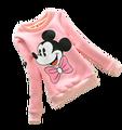 Cute Girls Warm Plus Velvet Sweatshirts Kids Cute Cartoon Minnie Sweater Child Costume Clothes Children Fashion Hoodies