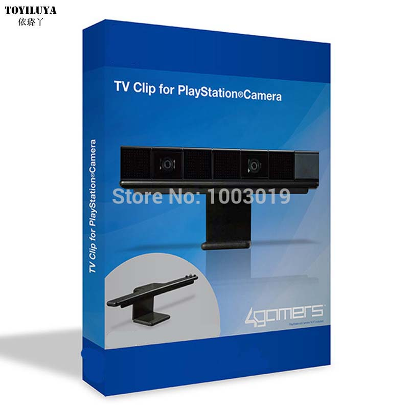 For PS4 TV Clip Mount Dock Stand Holder For Sony PlayStation 4 PS4 Eye Camera Sensor Wholesale