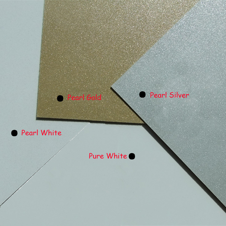0.5mm Thickness 20cmx30cm Blank Sublimation Metal Plate Aluminium Sheet Name Card Printing Sublimation Ink Transfer DIY Craft