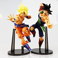 Dragon Ball Z Resurrection F Super Saiyan Son Gokou Bardock PVC Action Figure Collectible Model Toy 23cm