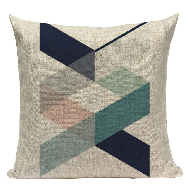 Nordic Pop Geometric Pillowcase Size: L313 Color: L313-8