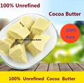 50g oz raw manteiga de cacau não refinado manteiga de cacau puro óleo essencial de óleo de base orgânica natural 2017 nova