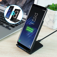 QI Wireless Charger For Samsung Galaxy S8 Plus s6 s7 note 8 Phone Wireless Charger Fast Charging For iPhone 8 5V2A Universal USB