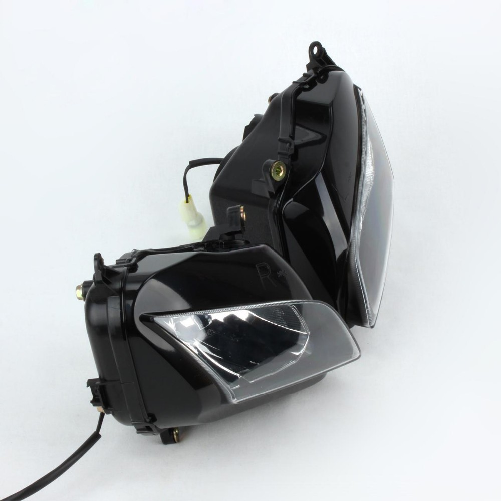 Clear Headlight Head light Lamp Assembly For Honda CBR600RR CBR 600 RR 2007 2008 2009 2010 2011 Get Sticker for Free